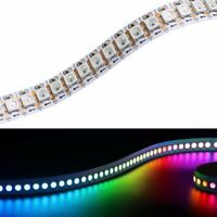 3.2ft 5050 RGB WS2812B LED Strip Light 144 Pixel Magic Color Showcase Light DC5V