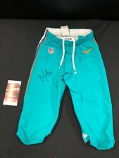 BOBBY McCAIN MIAMI DOLPHINS SIGNED GAME USED ON FIELD NIKE PANTS JSA COA 137665