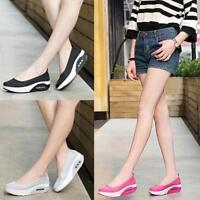 Fashion Women's Mesh Breathable Wedges Spot Shake Casual Fitness Sport Shoes new