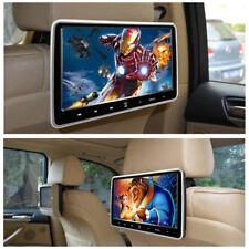"10.1"" LCD Screen In-Car & Portable Car Headrest DVD Player HD SD USB IR FM Game"