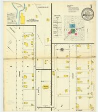Marienville Pa maps 1904.1909 Sanborn Fire insurance maps Cd disk