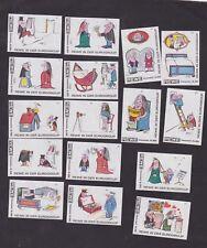 Série étiquettes Allumettes Allemagne   BN48601 Les Joies du mariage