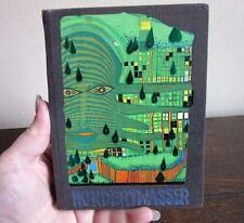 1976 -1980 USA Hundertwasser. The Albertina Exhibition book