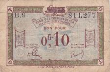 Billets de la banque française 10 francs