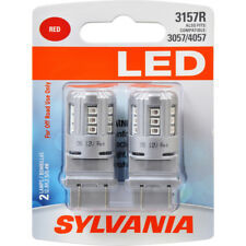 Brake Light Bulb-LED Blister Pack Twin Outer,Lower SYLVANIA 3157RSL.BP2