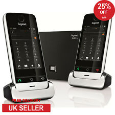 Siemens Gigaset SL910A Twin DECT Touchscreen Cordless Phone with Answerphone