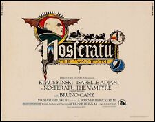 NOSFERATU the VAMPIRE 20th Century Fox, 1979 Horror classic, KLAUS KINSKI