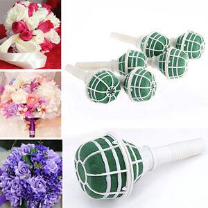 Wedding Flower Holder DIY Wedding Accessories Bridal Floral Foam Bouquet Handle