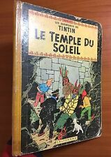 Tintin: Le Temple Du Soleil 1956 Belgian Early Edition EO Herge first