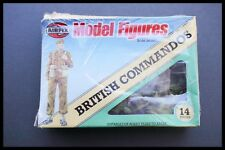 Vintage Airfix Military Series WWII British Commandos 1:32 Scale Poly Figures