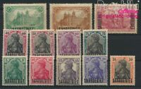 Saarland 32-43 mit Falz 1920 Germania (8882908