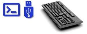 Forensic Keylogger Keyboard Pro -USB Keyboard with Integrated Hardware Keylogger