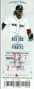 2017 Red Sox vs Pirates Ticket: Sandy Leon walk-off HR in 12th/Chris Sale Debut