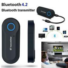 Bluetooth 4.0 Transmitter Audio Wireless Adapter 3.5mm Jack A2DP TV Stereo USB