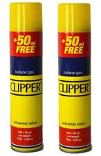 More details for clipper high quality universal gas lighter butane gas fuel fluid refill 300ml