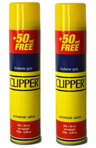 CLIPPER High Quality Universal Gas Lighter Butane Gas Fuel Fluid Refill 300ML