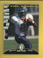 Tiki Barber RC 1997 Score Board NFL Rookies Card # 45 New York Giants Football