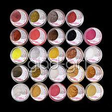 Eye Shadow 24PCS/Set Mix Color Tiny Powder Glitter Sheet Makeup Artist Set