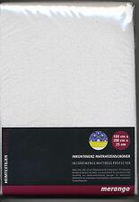 Matrazenschoner 160x200 cm Inkontinenz Auflage Frottee Bett Baumwolle Schlafen