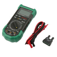 MASTECH MS8265 Digital Multimeter AC/DC Volt Amp Capacitance Frequency Test CH