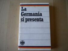 La Germania si presenta Romer Karl Libro + carta scuola illustrato ovest Nuovo