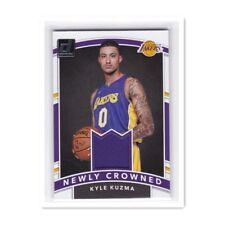 2017-18 Donruss Basketball Newly Crowned RC Lakers Rookie Jersey Kyle Kuzma