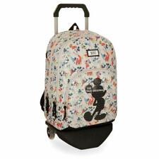 Trolley Backpack Cart Mickey Unisex 3 Pockets 44x32x22 CM 31 L Logo