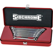Sidchrome 10pce Metric Geared Wrench 467 Pro Series Set - SCMT22202N