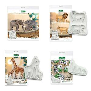 Katy Sue Designs - Safari Animals Collection - Silicone Mould - MULTIBUY DISC
