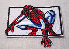 ÉCUSSON PATCH BRODÉ THERMOCOLLANT - SPIDERMAN N°7 ** 7 x 9 cm **