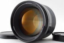"""Exc+++++"" Minolta AF 85mm F/1.4 Lens for Minolta Sony Alpha From Japan A879"