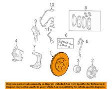 JAGUAR OEM 02-08 X-Type Front Brake Rotor Kit (2) C2S52091