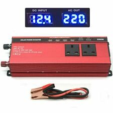 Boat Car 5000W/2500W converter power inverter DC 12V to AC 220-240V invertor