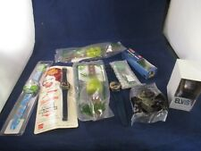 Lot of Several Watches Shrek Toy Story Elvis Grinch Ronald McDonald Spy Kids