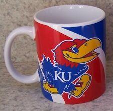 Coffee Mug Ncaa Kansas Jayhawks New 11 ounce cup with gift box