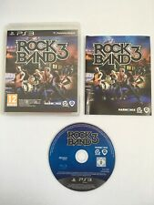 Rock Band 3 (Playstation 3, 2010) - Complete - Very Good *** FAST & FREE ***