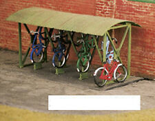 Wills SS23 Bicycle Shed with Bicycles 00 Gauge=1/76th Scale Plastic Kit 1st Post
