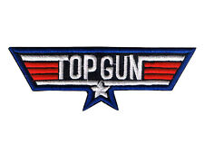 EMBROIDERED MAVERICK TOP GUN PATCH iron on cloth 80's Tom Cruise collectors item