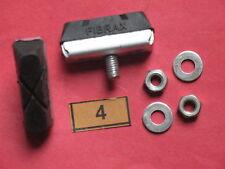 lot 4 FIBRAX,  patins frein, old brake pad, vélo vintage NEUF, NOS, fixie,éroica