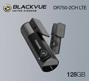 BlackVue Dash Cam DR750-2CH LTE Front and Rear Wi-Fi GPS (128GB) - NEW