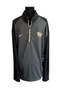 Wake Forest Demon Deacons Nike Dri-Fit Fleece Jacket 1/2 Zip Fleece - Men's 2XL