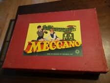 Vintage Meccano Outfit No.9 1952 MUST SEE