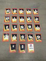 MUSKEGON LUMBERJACKS 1990-91 PROCARDS IHL TEAM SET SHAUNESSY NEEDHAM