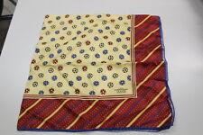 Foulard scarf UEFA CHAMPIONS LEAGUE 1995/96  88x88 cm palloni contorno bordeau