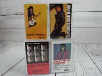 Cassette Tape Lot x4 JOAN JETT and the BLACKHEARTS I Love Rock Album Good Up