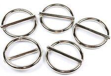 5x Anelli circa O-RING IN ACCIAIO INOX v4a 30mm saldato