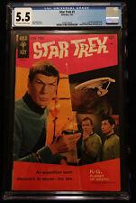 1967 Gold Key Star Trek #1 CGC 5.5 Off White to White Pages