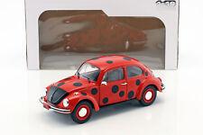 Volkswagen VW escarabajo 1303 Mariquita rojo/negro 1 18 solido