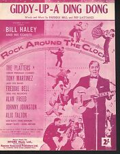 Giddy Up A Ding Dong Bill Haley 1956 Rock Around The Clock Sheet Music