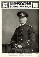 1916 * Leutnant z.S. Hans Berg Führer der Prisenbesatzung * Kaperfahrer * WW1
